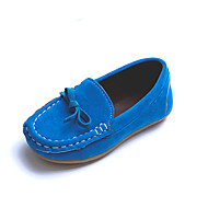 Boys' Loafers & Slip-Ons Spring Summer Comfort PU Wedding Party & Evening Casual Flat Heel Bowknot