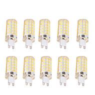 4W G9 E26/E27 Lâmpadas Espiga T 80 SMD 5730 400 lm Branco Quente Branco Frio Regulável Decorativa AC 220-240 AC 110-130 V 10 pçs