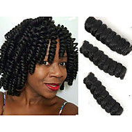 Crochê Bouncy da onda Tranças torção Extensões de cabelo fibra sintética Tranças de cabelo