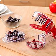 1 Pças. Cereja Removedor de sementes For Fruta Para utensílios de cozinha Metal PlásticoAlta qualidade Multifunções Gadget de Cozinha