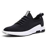 Herre-Tekstil-Flat hæl-Komfort Lette såler-一脚蹬鞋、懒人鞋-Friluft Fritid Sport-Svart