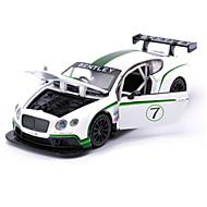 レーシングカー プルバック式乗り物おもちゃ 車のおもちゃ 1:28 メタル 虹色 プラモデル&組み立ておもちゃ