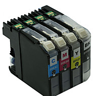 συμβατό αδελφό MFC-j2320, MFC-j2720 φυσίγγια εκτυπωτών, lc699xl, ένα πακέτο 4, χρώματα: κόκκινο, μαύρο, κίτρινο, μπλε