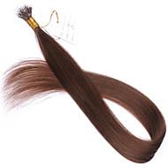 rózsaszín, kék, szürke # 613 # 60 # 27 nano tip hajhosszabbítás 10a perui Remy emberi haj keratin fúziós hajhosszabbítás új stílus nano