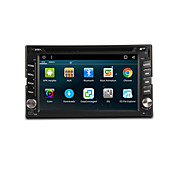 Android 6.0 6.2-inch  Car DVD Player with Quad-Core Contex A9 1.6GHz,Radio,、WIFI、4G、GPS、RDS