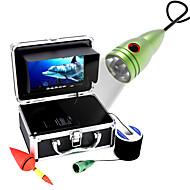 20m 1000tvl onderwater visuele videocamera kit 6 stuks led verlichting met7 inch kleurenscherm