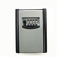 ks008 todo em metal decoração chave de senha de bloqueio caixa de armazenamento caixa de armazenamento de chave milhões senha montado na