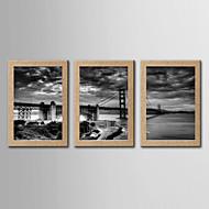 Valokuvaprintit Abstrakti Kuuluisa Classic Realismi,3 paneeli Pysty Panoramic Tulosta Art Wall Decor For Kodinsisustus