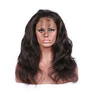 360 Fermeture frontale dentelle vague de corps vierge de cheveux brazilian - racine des cheveux naturels - noeuds légèrement blanchies