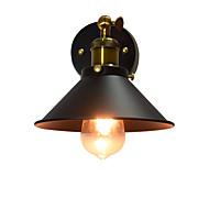 AC220V-240v 4w e27 led maali yksi seinä rauta seinä lamppu tyhmä musta valosapelia lamppu seinään