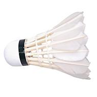 1 Pièce Badminton Volants Faible résistance de l'air Haute résistance Haute élasticité Durable pour Plastique