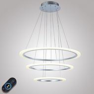 Lampe suspendue ,  Contemporain Autres Fonctionnalité for Cristal LED MétalSalle de séjour Chambre à coucher Salle à manger Cuisine