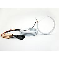 131mm גורן המתקפלות ענבר לבן צבע כפול עם הפיכת האות מקרן BMW E36 e38 E39 E46