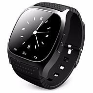 Masculino Mulheres Relógio Inteligente Digitalsensível ao toque Calendário Impermeável Velocímetro Podômetro Cronômetro Comunicação