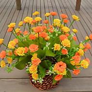 1 ramură Plastic Carnație Față de masă flori Flori artificiale
