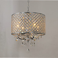 Chandelier ,  Traditional/Classic Chrome Feature for Crystal Metal Living Room Bedroom Dining Room Study Room/Office Entry