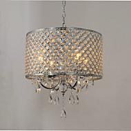 Lusteri ,  Traditional/Classic Chrome svojstvo for Crystal Metal Living Room Bedroom Dining Room Study Room/Office Ulazak