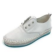 Dame-Lær-Flat hæl-Komfort-一脚蹬鞋、懒人鞋-Friluft Fritid-