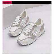 Damen Sportschuhe Leuchtende LED-Schuhe Gummi Sommer Normal Flacher Absatz Weiß Flach