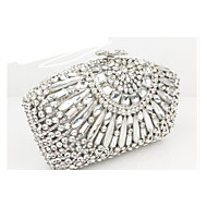 Women PU Event/Party Evening Bag Silver