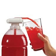 Nyhet elektrisk automatisk juice cocktail vann dispenser drikker halm frukt grønnsak automatisk drikke suge