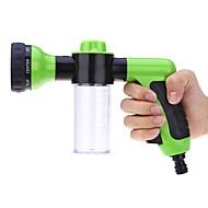 Automatisk vannsprayer bil høytrykksdysespraypistol med skumvannshagevask