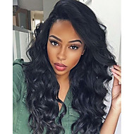Premier®Body Wave Full Lace Human Hair Wigs-Glueless 130% Density 100% Unprocessed Brazilian Virgin Remy Full Lace Wigs with Baby Hair For Woman
