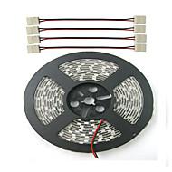8W 72W W faixa de luz planta lm DC12 0.3 5 m 300 leds Vermelho Azul