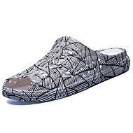 Herre-Nappa Lær-Flat hæl-Komfort-Tøfler og flip-flops-Friluft-