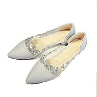 Feminino Rasos Sapatos clube Sapatos formais Conforto Bailarina Inovador Gladiador Sapatos para Daminhas de Honra Solados com Luzes