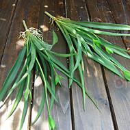 2 ענף סחלבים פרחים מלאכותיים