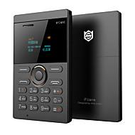 Fcane e1 mini telefone ultra slim cartão telefone led tela qwerty gsm cartão telefone