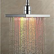 Σύγχρονο Ντουζιέρα Βροχή Χρώμιο Χαρακτηριστικό for  LED Βροχή Φιλικό προς το περιβάλλον , Κεφαλή ντους