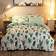 Conjunto de capa de edredão capa de edredão 1pc conjunto de folha de cama 1pc 2 pcs conjunto de fundamento pillowcase cactus