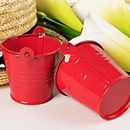 12 Piesă/Set Favor Holder-Cilindru MetalicCutii de Savoare Cutii și Sticle de Savoare Sticle și Borcane pentru Dulciuri Forme Hartie