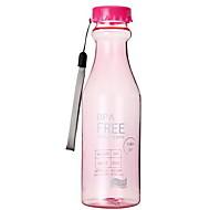 401-500ml Süßigkeit Farbe Sommer Kunststoff Dampf Flasche tragbare Wasser Tasse