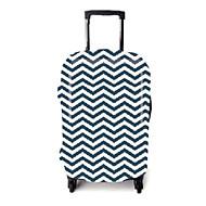 Matkalaukun suojus varten Matkalaukkutarvikkeet Polyester-Valkoinen/sininen