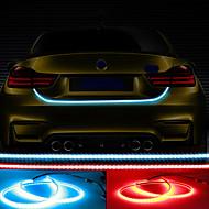 12v 48w 4800lm 자동차 다색 다기능 led 테일 램프 스캔 차례 신호 높은 붉은 가벼운 플래시 100 % 자동차 장착