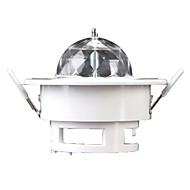 Etapa de lumină Magic cu LED-uri Party Disco Club DJ Arată Lumiere LED Crystal Light Proiector cu laser 3W - 50-60 - Auto Strobe