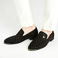 Herren-Loafers & Slip-Ons-Lässig-Wildleder-Flacher Absatz-Komfort-