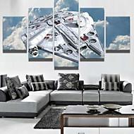 Impresiones de Arte Naturaleza muerta Modern,Cinco Paneles Horizontal lámina Decoración de pared For Decoración hogareña