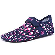 Tøfler & Slip-ons-Stof-Lysende såler-Damer--Udendørs-Flad hæl