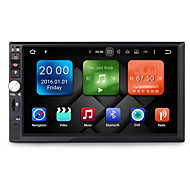 7 Inch 2Din Quad Core Android 6.0 Car  Multimedia Audio GPS Player System 2GB RAM With Wifi 3G EX-TV DAB Universal DY7092