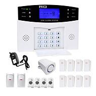 danmini lcd wirless GSM / PSTN székhely ház irodai biztonsági betörő riasztóval