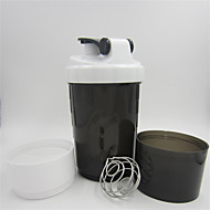 1pcs drei Proteinpuder-Shaker-Schalen sports Schalenspinnen-Wasserflasche bewegliche