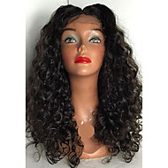 Vigin Hair Full Lace Wigs Peruvian Full Lace Human Hair Wigs Glueless Deep Curly Human Hair Lace Front Wig For Black Women
