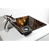 Antik Rund sink Materiale er Hærdet Glas Badeværelse Håndvask