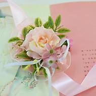 """Svatební kytice ručně vázané Růže Živůtek na zápěstí Svatba Párty / večerní akce Party/Koktejl Satén Tyl 7 cm (cca 2,76"""")"""