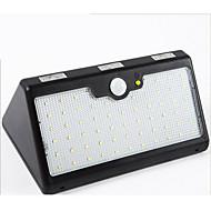 Sollys menneskekropps sensor lyser fire i en 60led udendørs vandtæt gårdhave sollys 4800mah