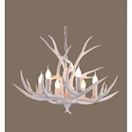 Závěsná světla ,  Retro Dřevo vlastnost for LED Dřevo / bambus Obývací pokoj Ložnice Jídelna studovna či kancelář Chodba